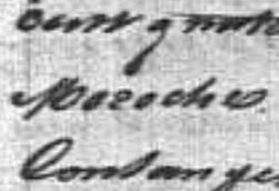 Le nom Moroche écrit dans un acte de décès (Clamecy - 1851 - 5Mi14 628 - AD58)