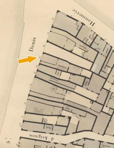 Cadastre de Paris par îlot (1810-1836), 23è quartier Lombards, îlots n°17 à 19, cote F/31/83/17, AD75