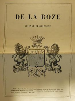 Armoiries de la famille de la Roze